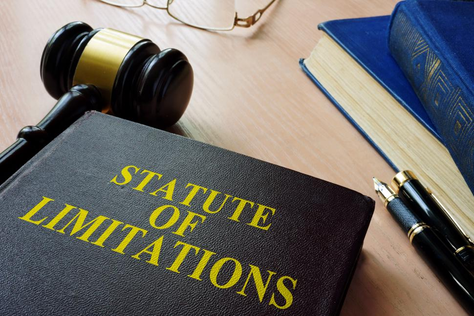 A book outlining the statute of limitations in Georgia.